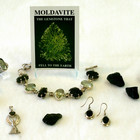 Moldavite Jewelry & Natural Pieces