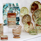 Examples of Banded Onyx Housewares