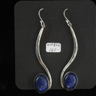 Sterling silver and Lapis earrings.