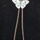 Turqoise Sterling Butterfly Bolo Tie JS48