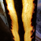 Fire & Ice onyx floor lamp, closed top