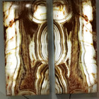 green banded onyx wall sconces