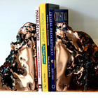 Copper Bookends