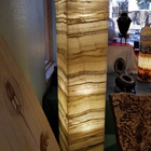 Tower Onyx Lamp