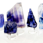 Bllue/Lavender Halite (Rock Salt)