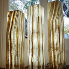 banded onyx floor lamps