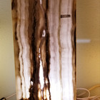 Rustic onyx rect. w/ voids