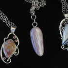 Pendants, gemstone